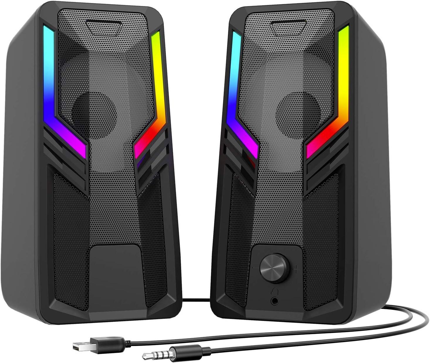 SUDOTACK Gaming Computer Speakers