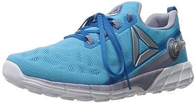 5792d687a16f Reebok Women s Zpump Fusion 2.5 Walking Shoe Instinct Wild Blue Purple  Fog Silver Metallic