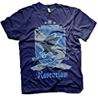 Harry Potter Officially Licensed Ravenclaw Mens T-Shirt (Navy)