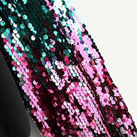 Sudadera para Mujer,Moda Manga Larga Casual Lentejuelas Patchwork Sudaderas Cortos Invierno Cuello Redondo Jersey Mujer Otoño Primavera Blusa Tops Tumblr Suéter Mujer Abrigo Deportiva por vpass