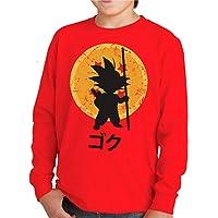 Camiseta Manga Larga de NIÑOS Dragon Ball Goku Vegeta Bolas de Dragon Super Saiyan 043
