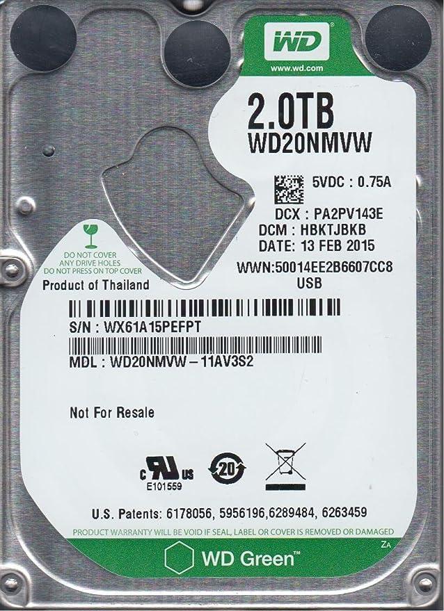 WD USB 2.5 PCB WD20NMVW-11AV3S2 771961-G01 AG