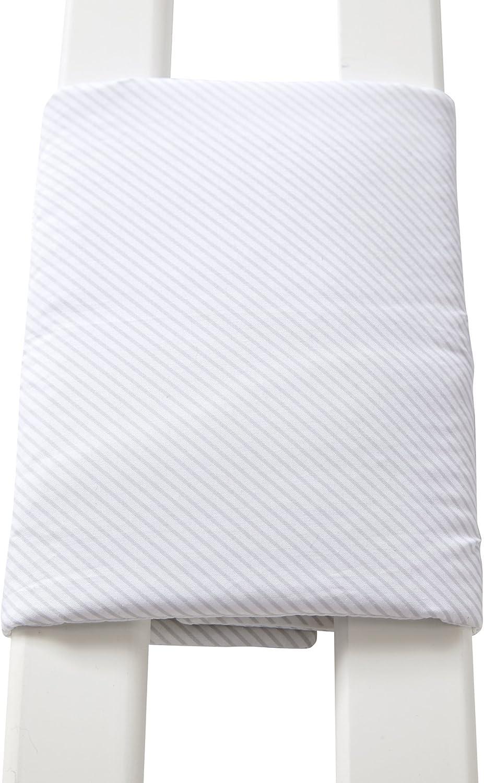 Vertbaudet Talla /única Protector de cuna transpirable blanco estampado blanc imprim/é algod/ón