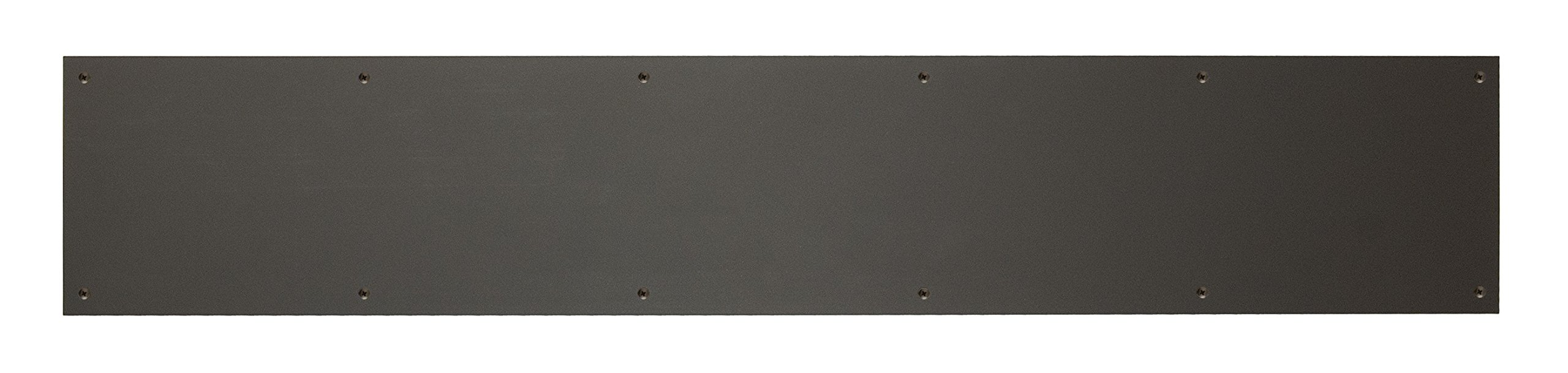BRASS Accents A09-P0840-613KP 8'' x 40'' Kick Plate Oil Rubbed Bronze Powder Coated Screw Mount