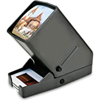 Rybozen 35mm Film and Slide Viewer, 3X Magnification and Desk Top LED Lighted Illuminated Viewing and Battery Operation-for 35mm Slides & Positive Film Negatives