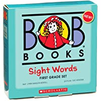 Bob Books - Sight Words First Grade Box Set | Phonics, Ages 4 and up, First Grade, Flashcards (Stage 2: Emerging Reader)