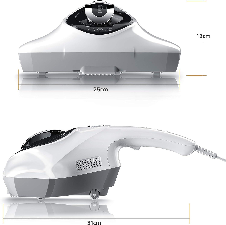 Brandson – Aspirador esterilizante – Antiácaros con lámpara UV ...