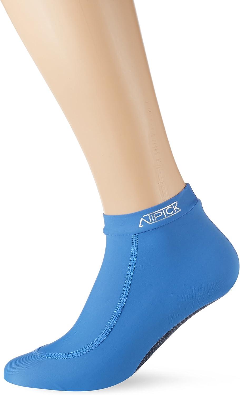 Atipick NTR3159 - Calcetines Antideslizantes Unisex, Color Azul