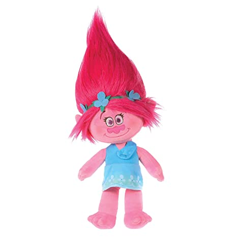 Peluche trolls 25cm poppy: amazon.it: giochi e giocattoli