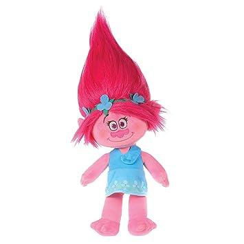 DreamWorks Trolls - Peluche Princesa Poppy (6174), 28 cm