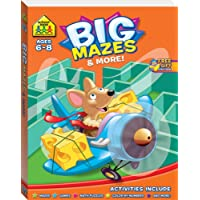 School Zone Giant Mazes And More Workbook