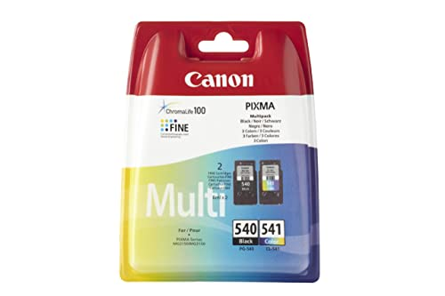 Canon PG-540/CL-541 Ink Cartridge - Multi-Coloured, Pack of 2