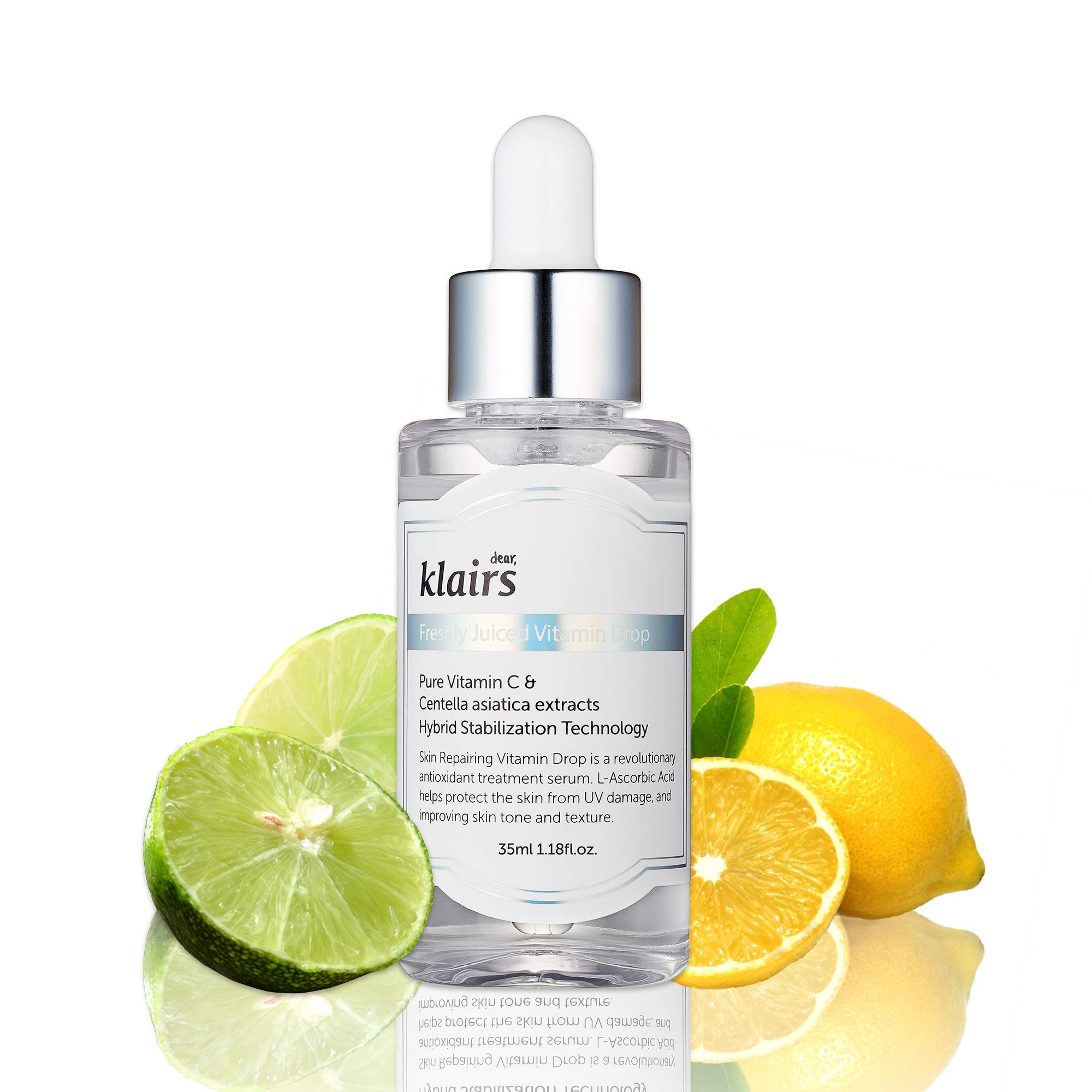 [KLAIRS] Freshly Juiced Vitamin Drop, 5% pure vitamin C, vitamin C serum, 35ml, 1.18oz by DearKlairs