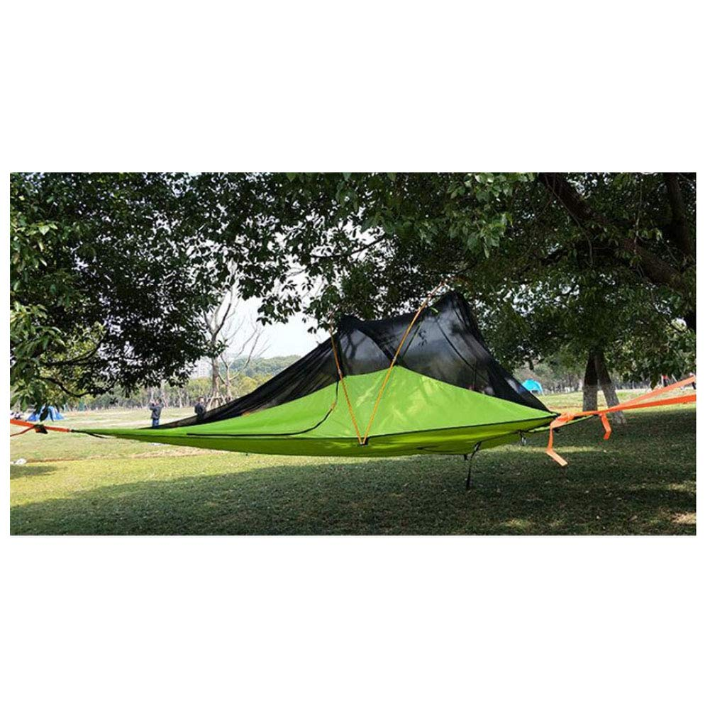 AntiUV,SpaciousTent, 34 Person Outdoor Off The Ground Hammock Tents Double Layer Camping Hiking Waterproof Portable Tent
