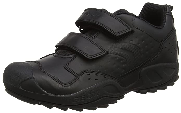 c30b9894b6 Geox Boys  J New Savage E Low-Top Sneakers  Amazon.co.uk  Shoes   Bags