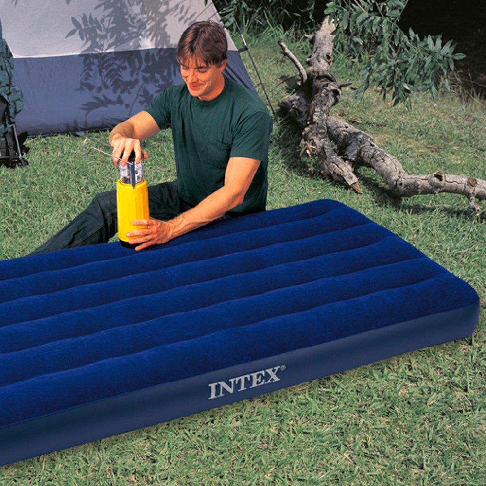 Intex Luftmatratzte, 68757, Blau, 99 x 191 x 22 cm: Amazon.de: Sport ...