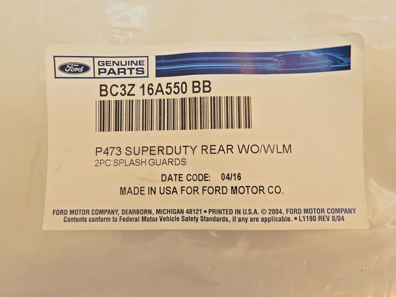 Ford Genuine BC3Z-16A550-BB Splash Guard