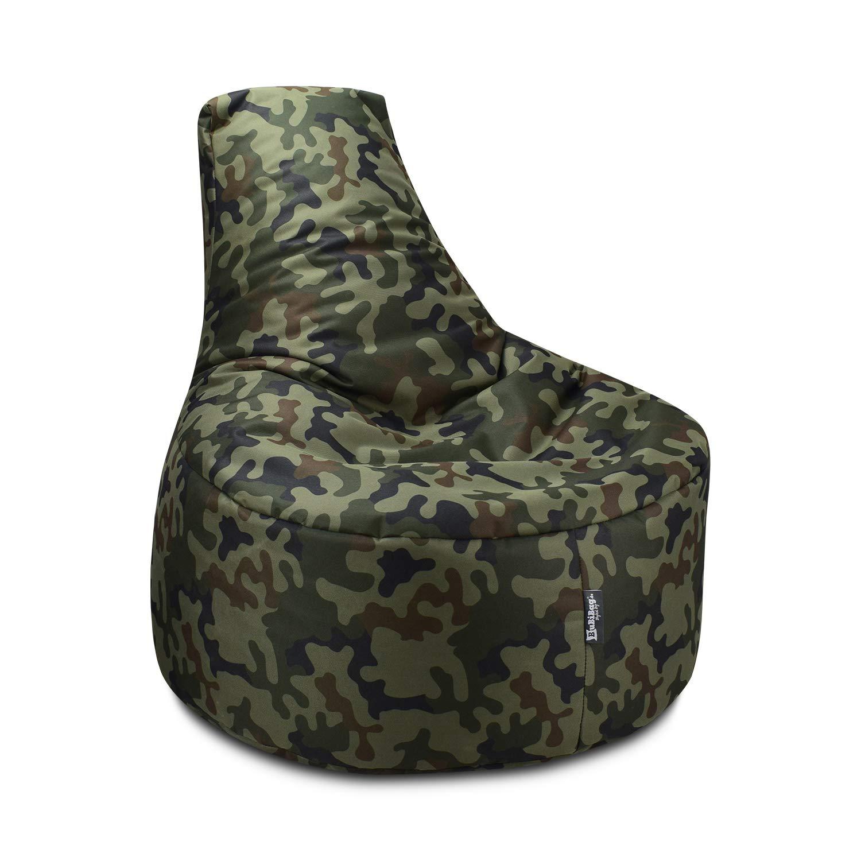 BuBiBag Gamer Cojín Lounge - Puf sillón Original Asiento Cojín en ...