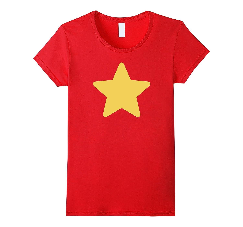 Women's Steven Universe Star Symbol Graphic Tee Women-Rose