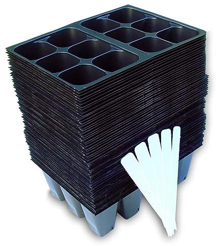 Seedling Starter Trays, 720 Cells: (120 Trays