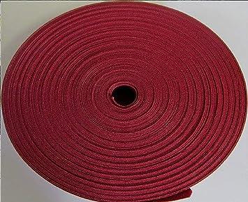 Ribete de algodón al bies de alta calidad, color burdeos (25 mm x 25 metros): Amazon.es: Bricolaje y herramientas