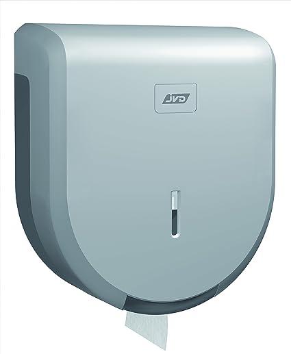 Dispensador papel WC y bidé jumbo- para bobina 200 M – en ABS capot gris
