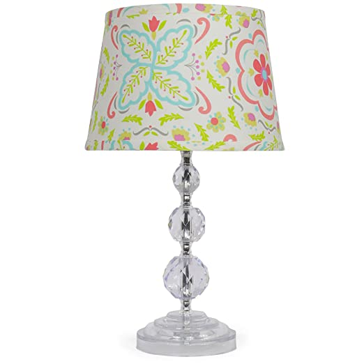 Lambs /& Ivy R Little Campers Lamp with Shade /& Bulb