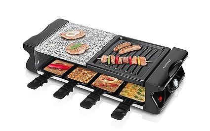Cusimax w raclette grill griglia per feste per persone