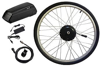 Clean Republic Kit de conversión de Bicicleta eléctrica Hilltopper   Motor de Rueda Delantera de 350