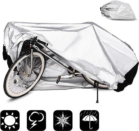 WisFox Funda para Bicicletas 190T Cubierta Impermeable Funda de ...
