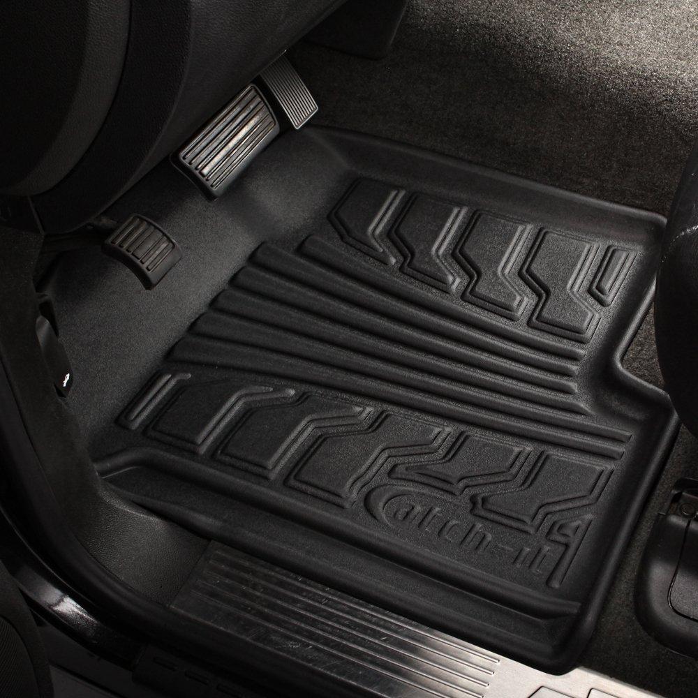 Lund 283030-B Catch-It Vinyl Black Front Seat Floor Mat Set of 2