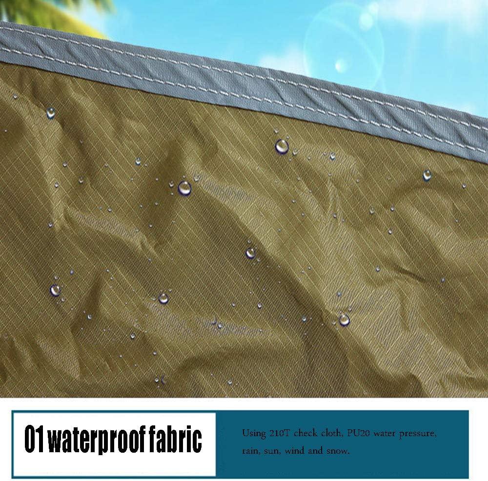 QWESHTU La Luce del Sole Giardino all'ombra della Vela Tenda Rettangolare Anti-UV Adatto a Giardino Balcone Terrazza,Nero Black