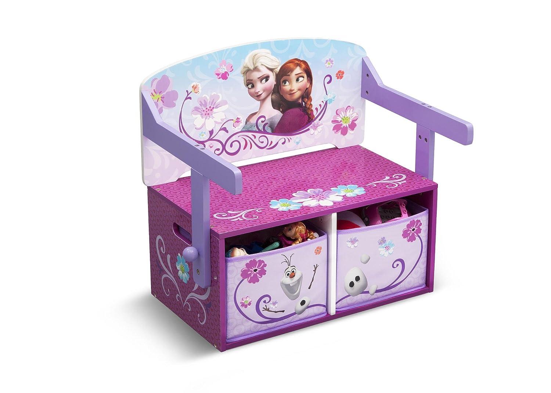 Disney Frozen 2in1 Maltisch u Sitzbank umklappbar Kindermöbel Kindersitzgruppe Tisch Tisch Tisch Stuhl f44fe3