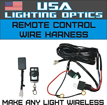 Amazon wireless remote control universal wiring harness off wireless remote control universal wiring harness off road atvutv jeep trucks led light bar aloadofball Gallery