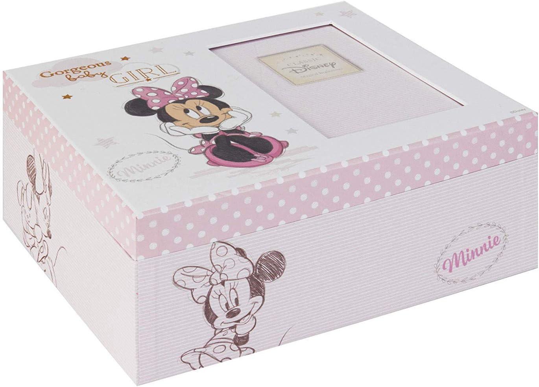 Disney Bebé Mágico Inicios Recuerdo Caja Minnie Mouse Bebé: Amazon ...