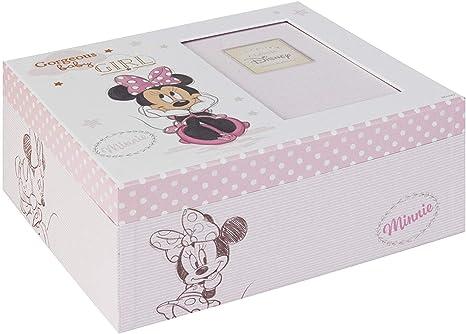 Disney Bebé Mágico Inicios Recuerdo Caja Minnie Mouse Bebé ...
