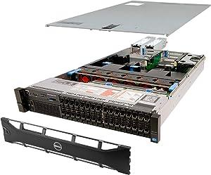 Dell PowerEdge R720 Server 2X E5-2660 2.20Ghz 16-Core 128GB H310 (Renewed)