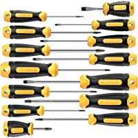 $23 » Magnetic Screwdriver Set 14 PCS Include Slotted/Phillips/Torx Precision Screwdriver With…