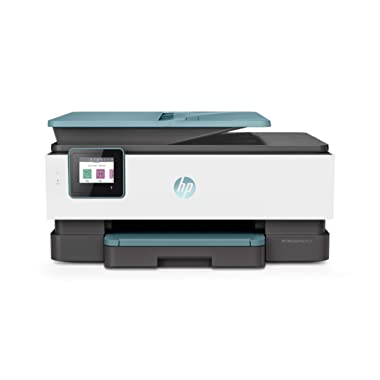 HP OfficeJet Pro 8035 All-in-One Wireless Printer – Includes 8 Months of Ink Delivered to Your Door, Plus Smart Tasks for Home Office Productivity – Oasis (3UC66A)
