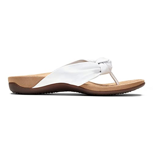 9c9a4a2152d1 Vionic Women s Rest Pippa Toepost Sandal White 6.5 UK  Amazon.co.uk  Shoes    Bags