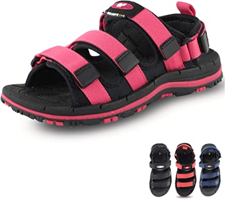 Kids Adjustable Straps Outdoor Water Slide Durable Sandals by Gold Pigeon Shoes