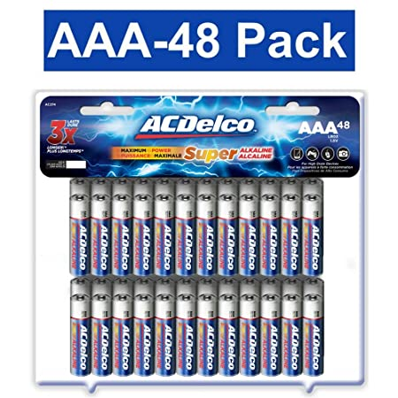 Review ACDelco AAA Batteries, Alkaline