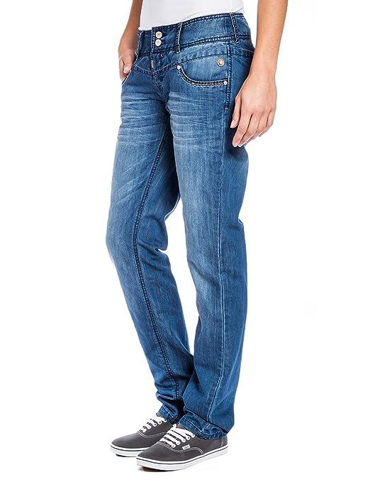 Womens 16-5414 Britttz Droit Royal 3210 Fuseau Horaire Jeans Lavage Bleu egawIakn8n