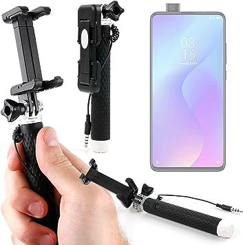 DURAGADGET Palo Selfie (Selfie-Stick) Compatible con Smartphone Xiaomi Mi 9T Pro, REALME 5, REALME 5 Pro: Amazon.es: Electrónica