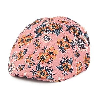 74de16de Barts Hats Kids Biduri Cotton Flat Cap - Pink 53: Amazon.co.uk: Clothing