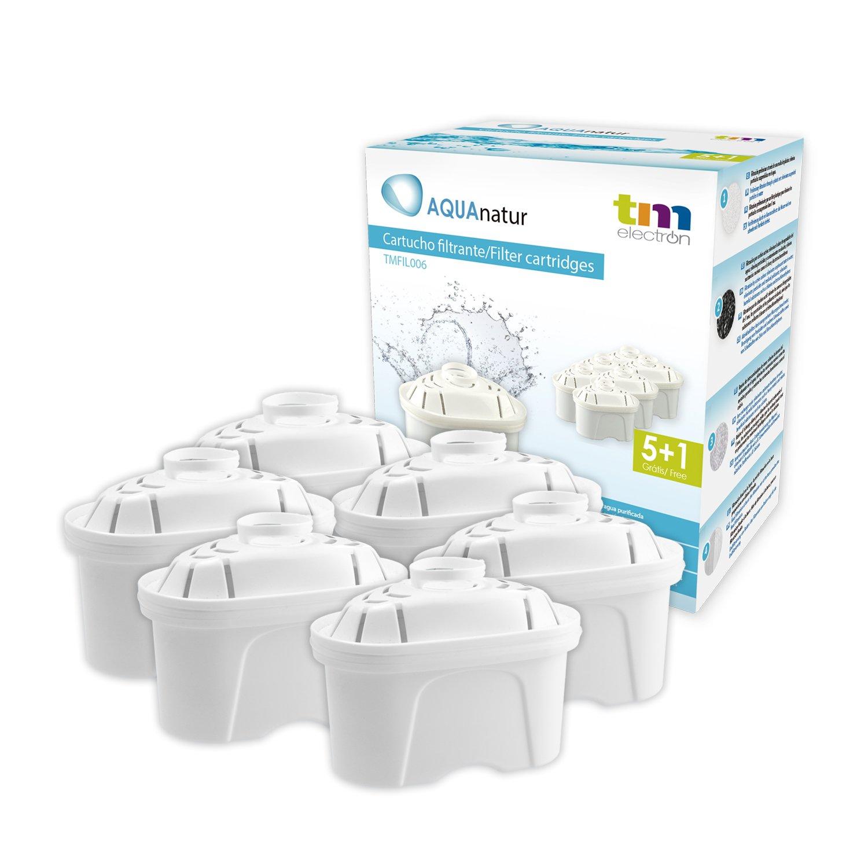 Tm Electron TMFIL006 Recambios para Jarra con Filtro compatibles con Modelos Britta Maxtra, Plastic product