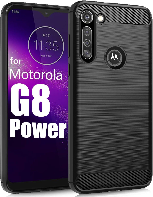 Funda Para Moto G8 Power - Negra De Tpu
