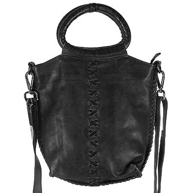 91373e0abb1 Latico Leathers: Nuria, Authentic Luxury Leather, Designer Fashion (Black)