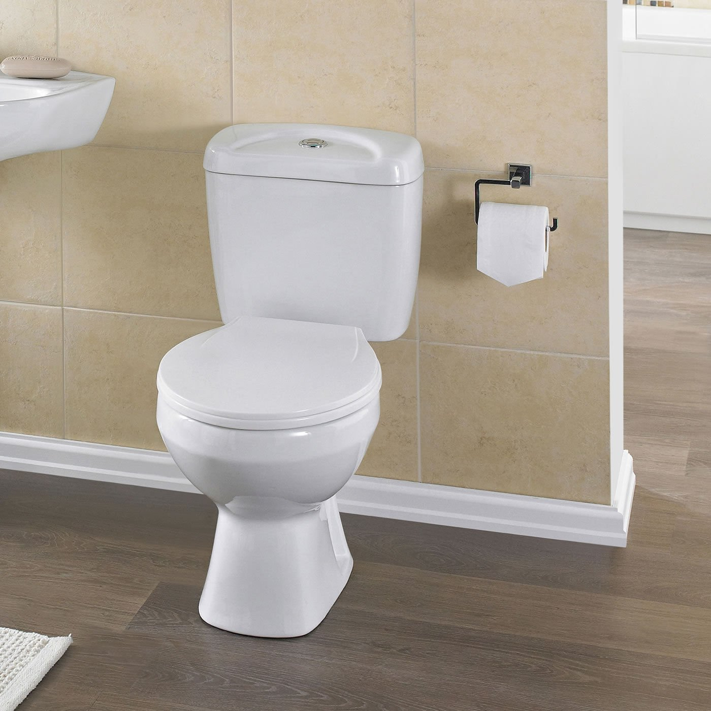 Cheap ToiletsNew Style Water Closet One Piece Strap