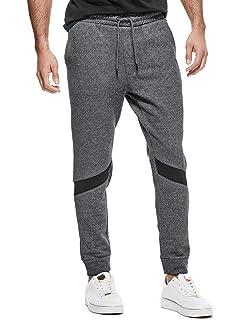 GUESS Factory Men/'s Lorenzo Logo-Stripe Joggers